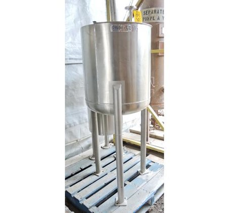 TANK, 60 USG, STAINLESS STEEL,