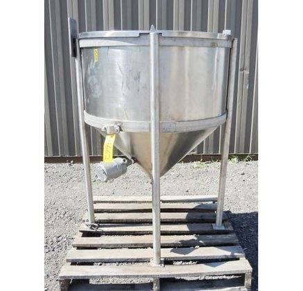 TANK, 85 USG, STAINLESS STEEL,