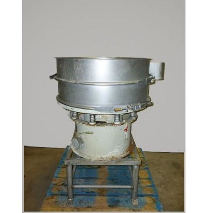 "SWECO 30"" DIAMETER STAINLESS STEEL,"