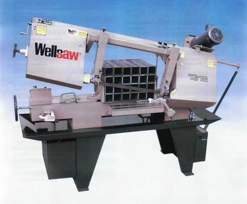 "13""X18"" Wells Horizontal Type Saw"