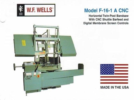 """16"""" X 18"""" W.F. Wells"""