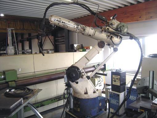 OTC Welding robot 350 TB in Deinze, Belgium