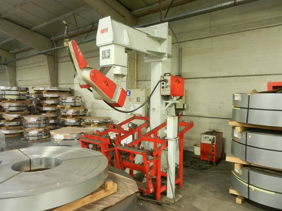 IGM Limat RT-280-6 welding robot in Deinze, Belgium