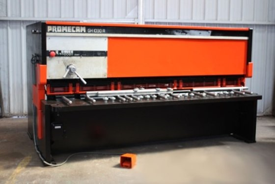 amada promecam gh 3100 x 10 mm in deinze belgium rh machinio com Amada Hydraulic Metal Shear Amada Hydraulic Metal Shear