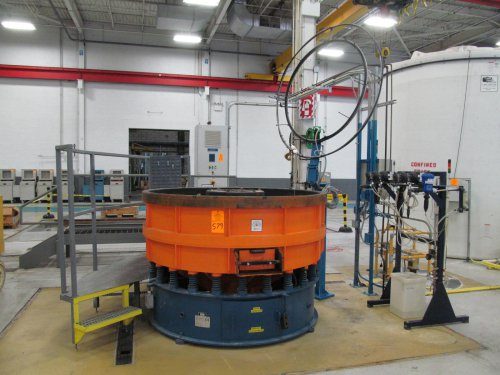 2002 REM Abrasive Finishing System