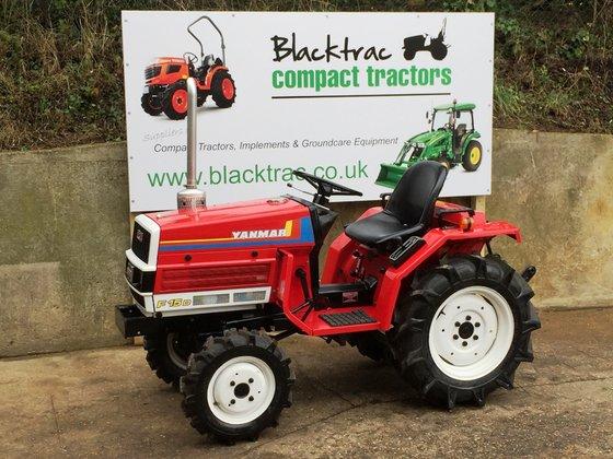 Yanmar Tractor Pto : Yanmar f d compact tractor in islip united kingdom