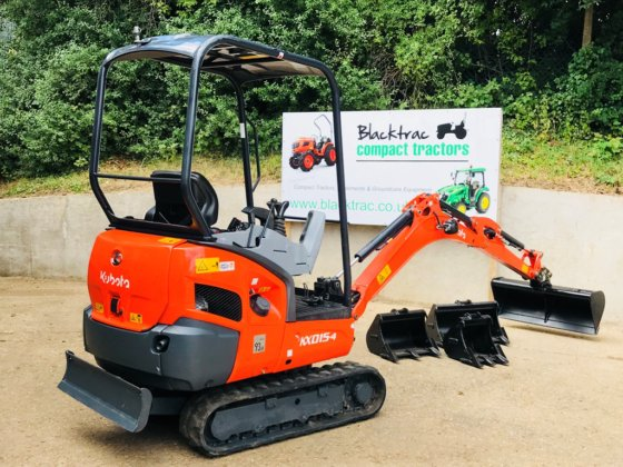 Kubota Kx015 4 Mini Digger In Islip United Kingdom