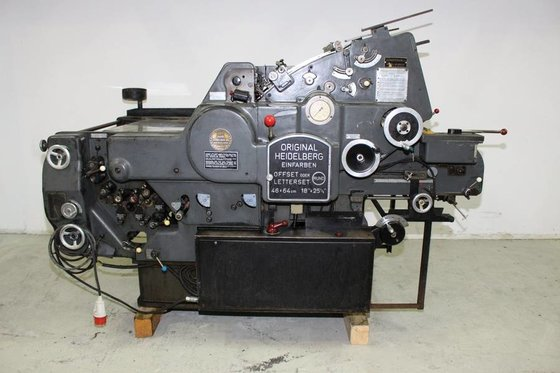 1972 Heidelberg KORD64 SHEET-FED OFFSET