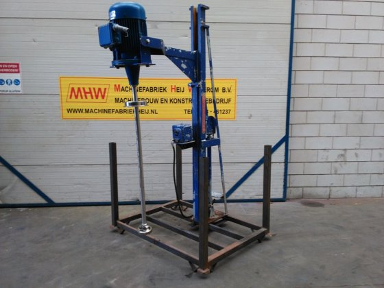 Batch disperser Silverson in Wekerom, Netherlands