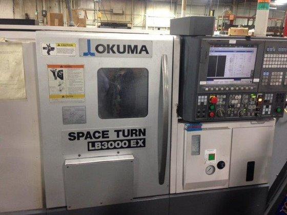"""2012 OKUMA LB300-EX, 8""""CHK, 20.47""""CC,"""