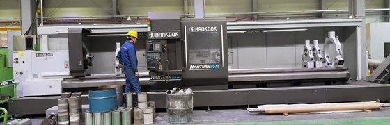 "2013 HANKOOK HANTURN-95M, 37""SWING, 236""CC,"