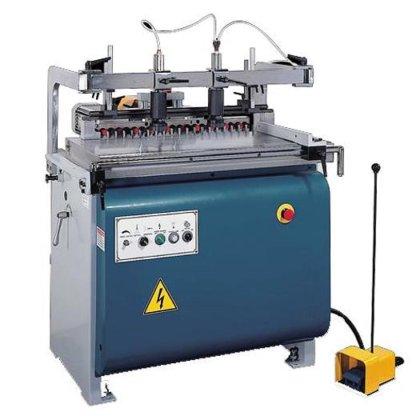 Pneumatic Hinge Boring Machine Floor Type Single Head Hole Driler Digital Contro