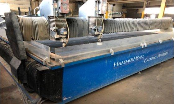2005 Calypso Hammerhead 126 Waterjet Cutting System in