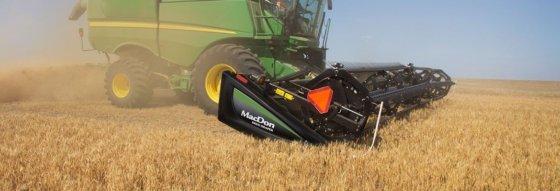 MacDon D65 Draper Headers for Combine Feed Auger # in Elmira