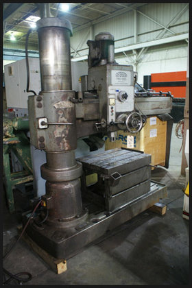 SORALUCE TRO-1250 Radial Arm Drill,