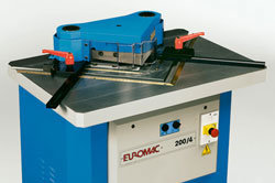 EUROMAC 200/6 Notcher, Fixed Angle,