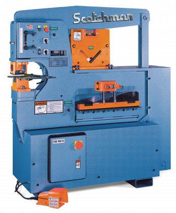 SCOTCHMAN 6509-24M Ironworker, Capacity 6