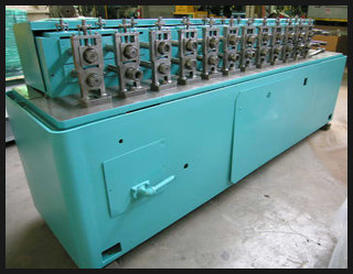 TISHKEN 14 Stand Rollformer Rollformer,