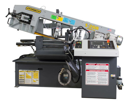 HYD-MECH S-20A Horizontal Bandsaw, Automatic,
