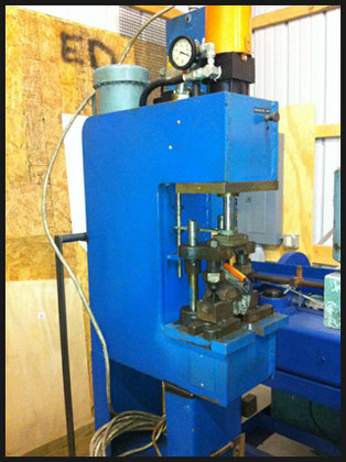 CUSTOM Built Press / Punch,