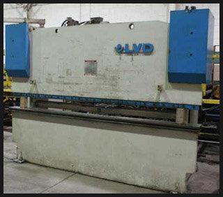 1993 LVD 4-Axis Hydraulic Press