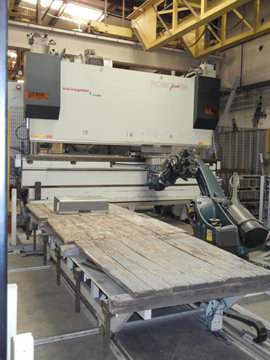 2004 SALVAGNINI Roboformer Robotic Bending