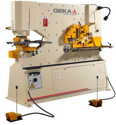GEKA Hydrocrop 80SD Ironworker, Capacity