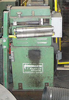1991 GAUER Edge Conditioning Machine,
