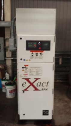 2001 GARDNER-DENVER 753-303E-GC AIR COMPRESSOR