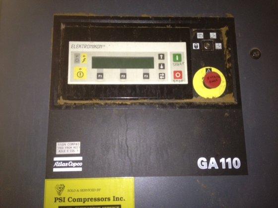 1998 ATLAS COPCO GA-110-125 AIR