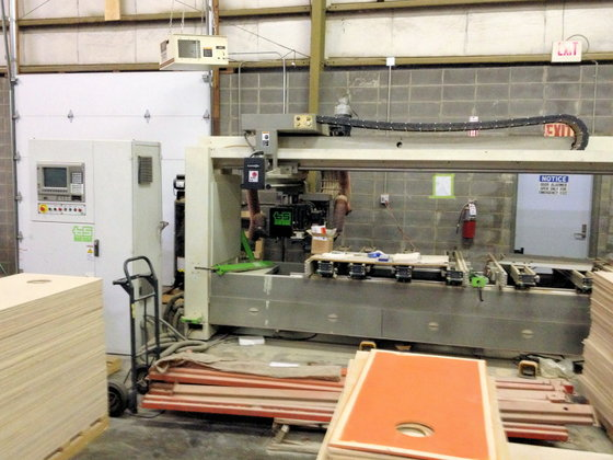 BIESSE ROVER 342 CNC MACHINING
