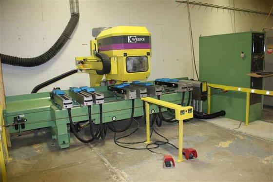 1998 WEEKE BP-12 CNC MACHINING
