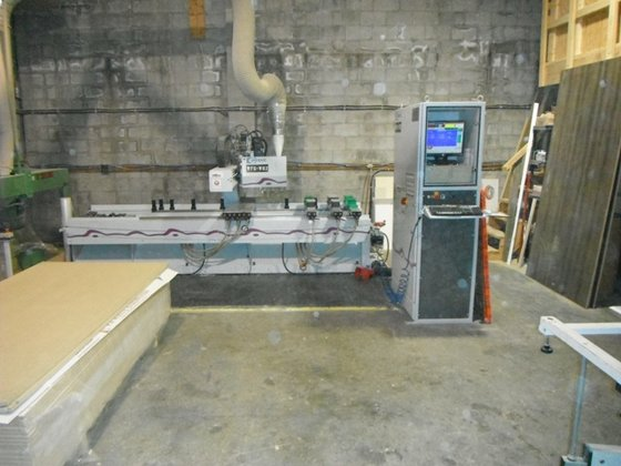 1998 WEEKE BP-80 CNC MACHINING