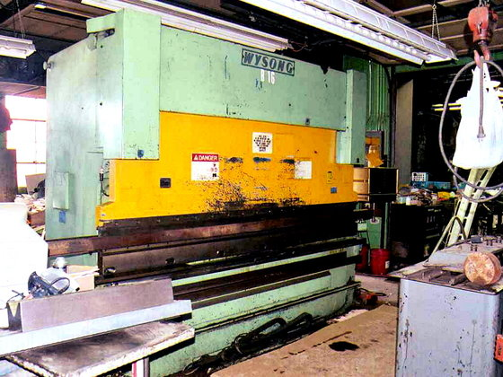 1988 WYSONG RT 4-175X122 PRESS