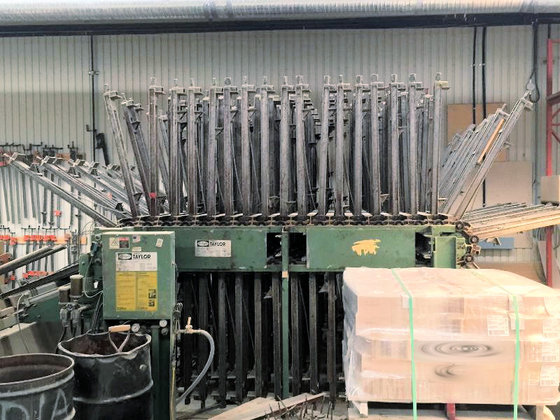 1995 TAYLOR 40 SECTION CLAMP