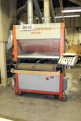1995 QUICKWOOD RO-1100 DENIBBING SANDER