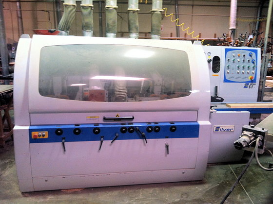 2006 SILVER SF-5020AH MOULDER (FEED