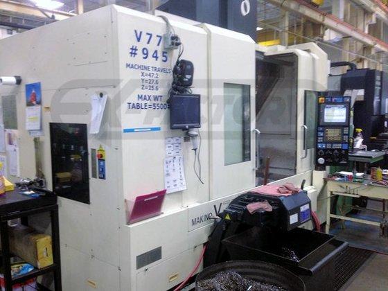 2004 MAKINO V77 MACHINING CENTER