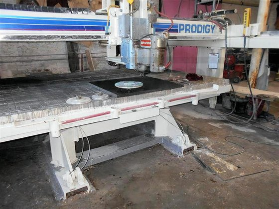 COMPLETE GRANITE FABRICATION SHOP BUSINESS