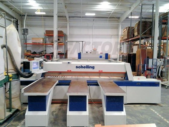 1995 SCHELLING FI-330/330 FRONT LOAD,