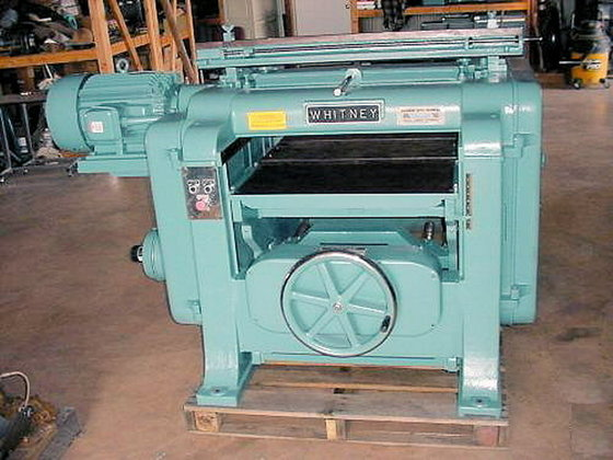 1993 WHITNEY S-205 PLANER (HELICAL