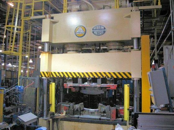 2003 SUTHERLAND HP2-400 PRESS (HYDRAULIC)