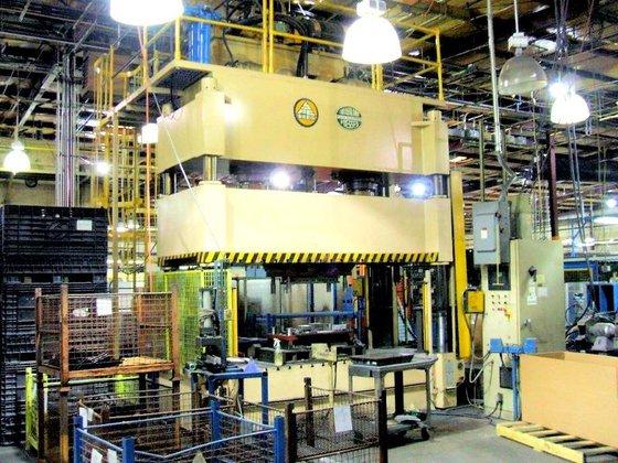 2004 SUTHERLAND HP2-400 PRESS (HYDRAULIC)