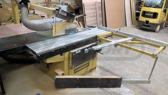POWERMATIC HPS-67 SLIDING TABLE SAW