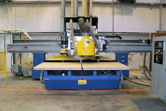 1999 NORTHWOOD NW2-55-1 CNC ROUTER