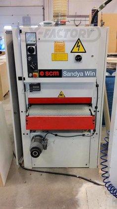 2003 scmi sandya win wide belt sander sw 280652 in