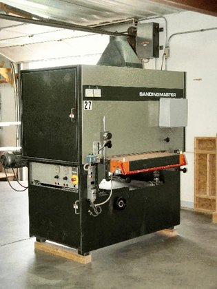 """SANDINGMASTER SCSB-2-900 WIDE BELT (12"""""""