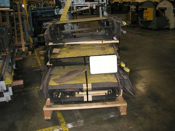 GOLDCO, 2-CHAIN PALLET CONVEYING UNITS