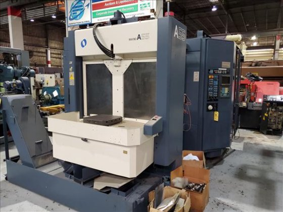 MAKINO A55 CNC HORIZONTAL MACHINING