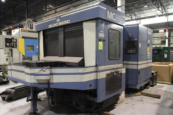 MAKINO MC-86 4-AXIS CNC HORIZONTAL